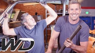 Foolproof Methods For Building A Roll Cage   NEW Wheeler Dealers