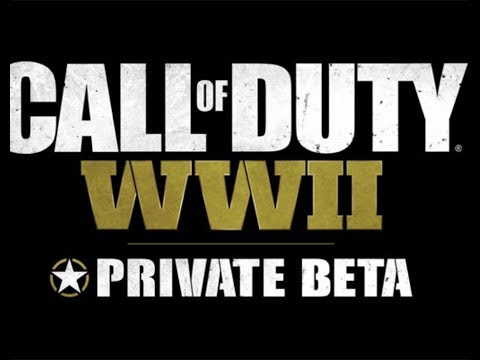 CALL OF DUTY: WW2 *LIVE* Giving away ww2 beta account in chat