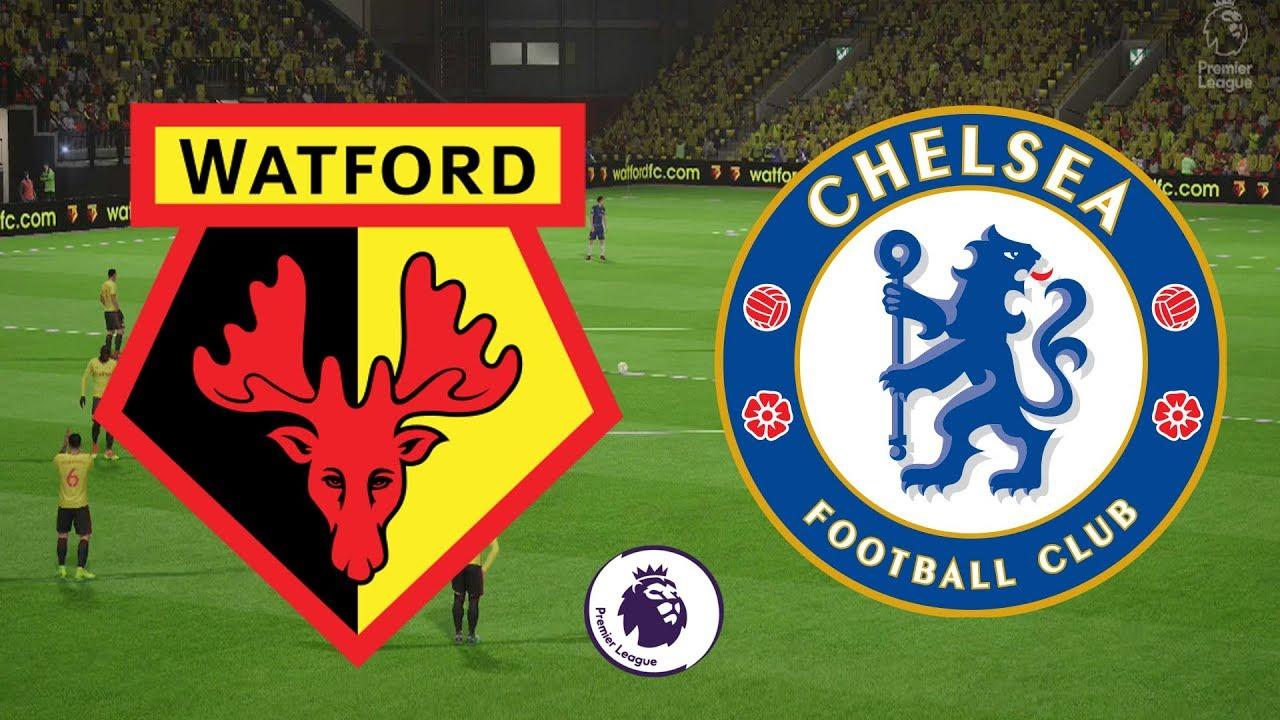 Image result for Watford vs Chelsea