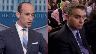 "Stephen Miller Wrecks CNN's Jim Acosta On Immigration ""RAISE"" Act, Acosta Doubles Down"