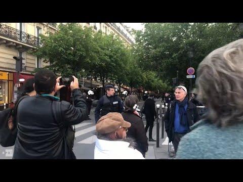 Compendio de imagenes en video del Incendio de la Catedral de Notre Dame en París