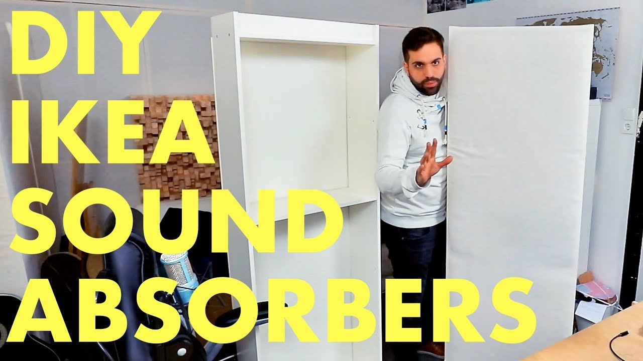 How To Build Acoustic Sound Absorbers Just 30 Diy Ikea