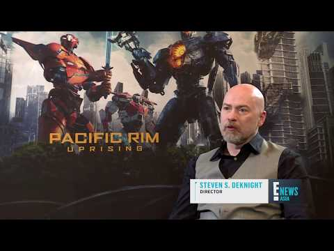 Steven S. Deknight & Scott Eastwood   Pacific Rim Uprising   E! Asia