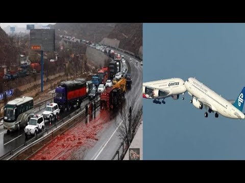 Most Dangerous Accident In The World (DUBAI,USA,UK,AUS,CAN) But People's Arr Soo Lucky And Save