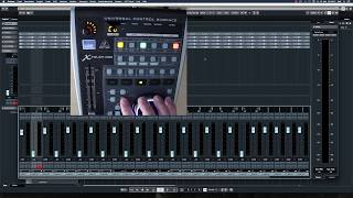 Studio Gear Behringer X-Touch One and Cubase