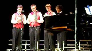 Alleghany High School Choir- Barbershop Quartet