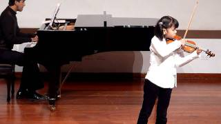 Seitz, Pupils Concerto No3 in G minor Op12, by Alexandra Akemi Gonzales Siu, 7 years old