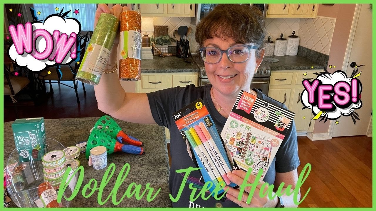 Dollar Tree Haul Brand Names   New Finds At The Dollar Tree   Dollar Tree Haul 2021