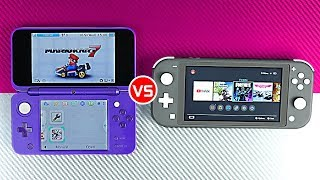 Nintendo Switch Lite vs New 2DS XL