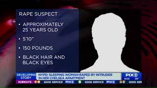 Woman sexually assaulted while sleeping at Chelsea apartment