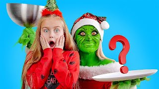 DELICIOUS CHRISTMAS CHALLENGE || Real vs Chocolate vs Squishy by 123Go! Play!