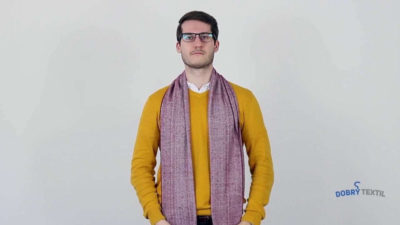 12 způsobů jak nosit šálu - DobryTextil.cz - YouTube df95e15d8d