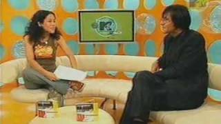 Anastasia interviewt Rodrigo Gonzalez am 21.08.2001