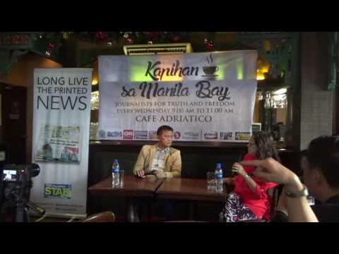 BOC Commissioner Faeldon at the Kapihan sa Manila Bay