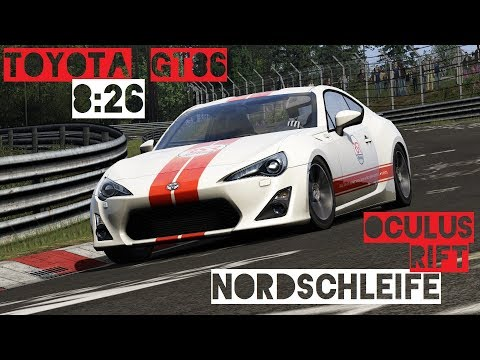 Toyota GT86 Nürburgring Nordschleife Record | Assetto Corsa VR Gameplay [Oculus Rift]
