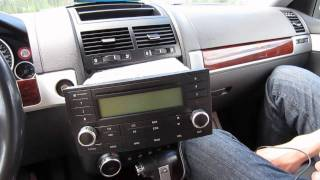 GTA Car Kits - Volkswagen Touareg 2002-2010 install of iPhone, iPod and AUX for factory stereo