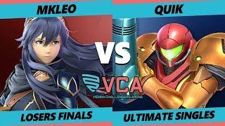 VCA19 - myR | quiK (Samus) Vs. FOX | MkLeo (Joker, Lucina)  Smash Ultimate Tournament Losers Finals