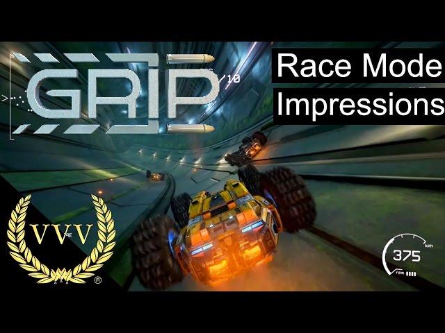 GRIP: Combat Racing Gameplay Race Mode Impressions