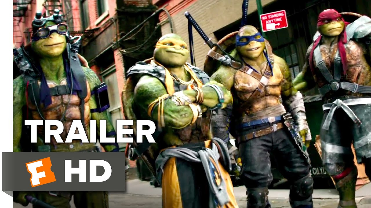 Teenage Mutant Ninja Turtles Out Of The Shadows Official Trailer 1 2016 Megan Fox Movie Hd Youtube