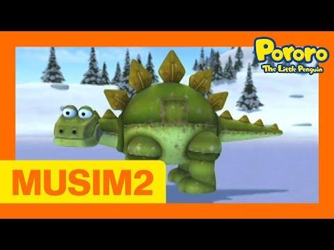 #5 Itu dinosaurus!   Pororo Si Penguin Kecil Musim 2   Animasi Indonesia