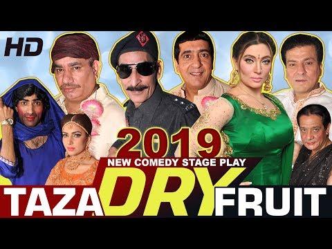 TAZA DRY FRUIT (2019) IFTIKHAR THAKUR, NASIR C, ZAFRI K & KHUSHBOO - STAGE DRAMA - HI-TECH MUSIC