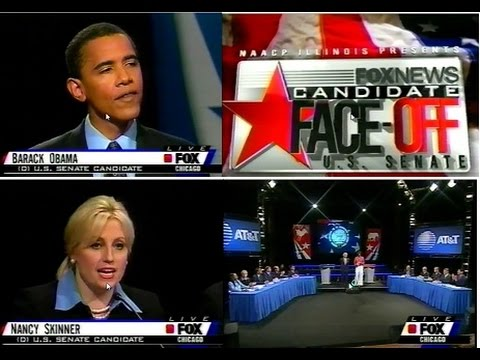 US IL Senate Democratic Primary Debate 2004 Barack Obama Nancy Skinner Part1