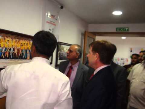 Dr. RUBEN BERROCAL's (Minister, The Republic of Panama)  Visit to Aegis Global Academy