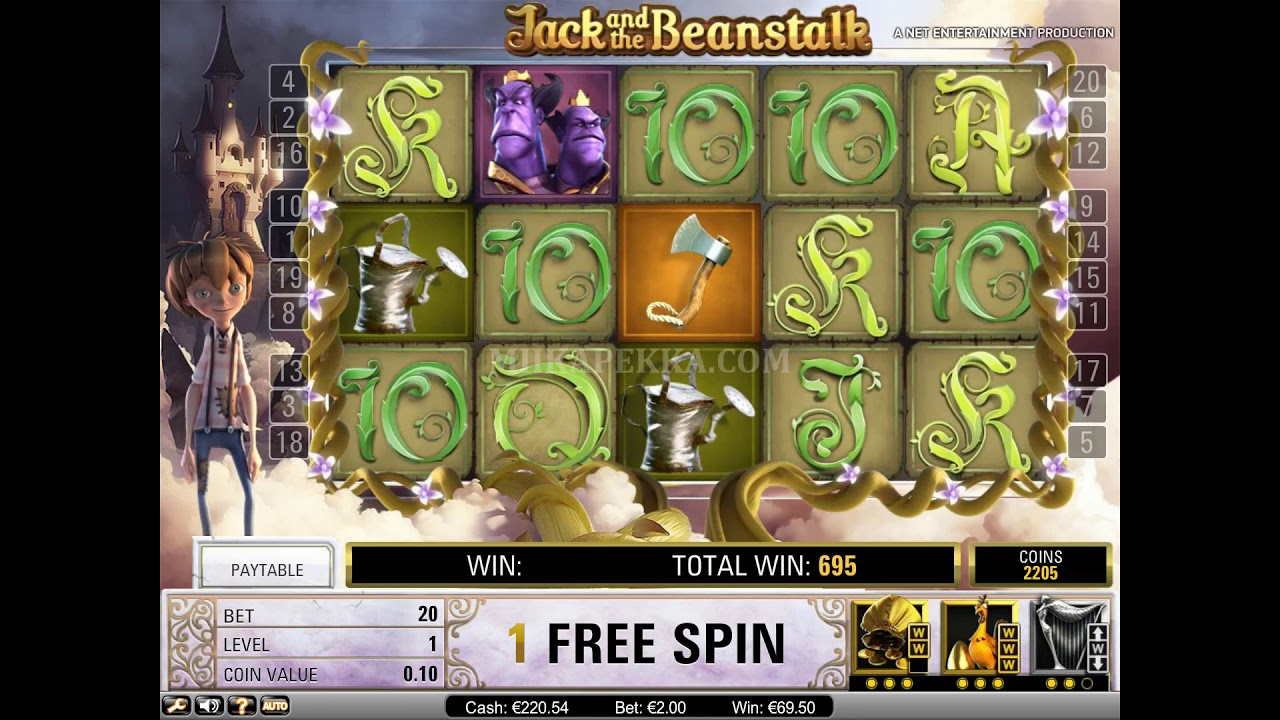 Jack And The Beanstalk Big Win X5000 Youtube