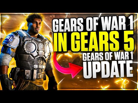 GEARS OF WAR 1 WAS RELEASED AGAIN BUT IN GEARS 5 - NEW UPDATE REVIEW! thumbnail