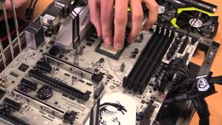 Overclocking Guide für Anfänger: MSI Z170A XPOWER Titanium Edition (Caseking)
