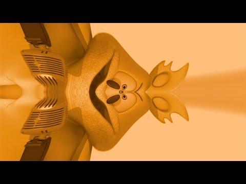 ORANGE Gummibär REVERSE FISHEYE SPECIAL REQUEST Danish HD Gummy Bear Song