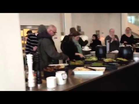 Campus Roskilde danser i frokostpausen