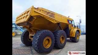 775006 CATERPILLAR 740 6x6 DUMPER ARTICULATED DUMP TRUCK 2007 C/W TAILGATE