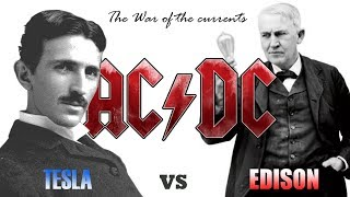 TESLA vs EDISON ~ The War of the Currents ~ (without music)