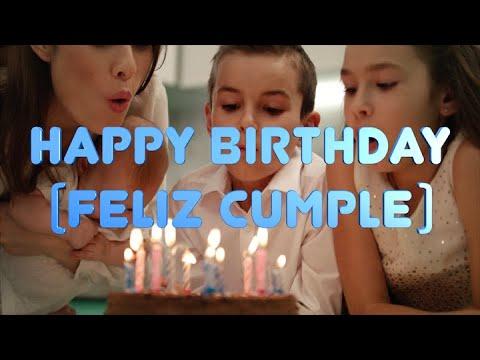 Happy birthday - Feliz cumpleaños - Ariel de Cuba