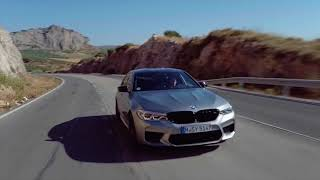 On the road with the BMW M5 Competition