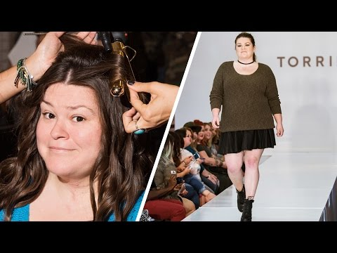 Thumbnail: I Tried Runway Modeling For The First Time