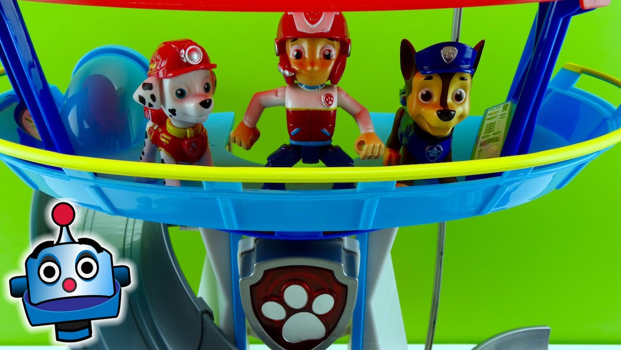 Torre de vigilancia de la patrulla canina juguetes paw - Imagenes de la patrulla canina ...