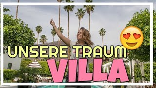 UNSERE VILLA IN PALM SPRINGS 😱😍| Tag 1 - Amerika Tagebuch | 12.04.2018 | Daily Maren & Tobi