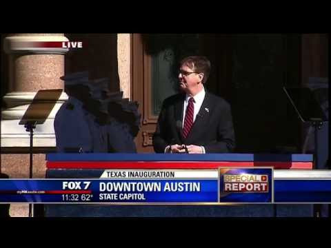 2015 Inaguration Of Texas Governor Greg Abbott And Lieutenant Governor Dan Patrick