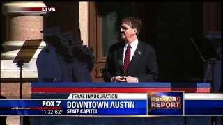 2015 Inaguration of Texas Governor Greg Abbott and Lieutenant Governor Dan Patrick