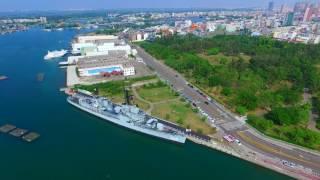 台南安平德陽艦空拍攝影