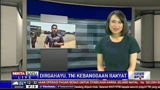 Berbagai Atraksi di HUT ke-74 TNI