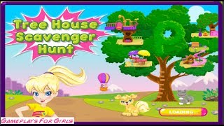 ♥ Polly Pocket Tree House Scavenger Hunt * Gameplay For Girls * ♥