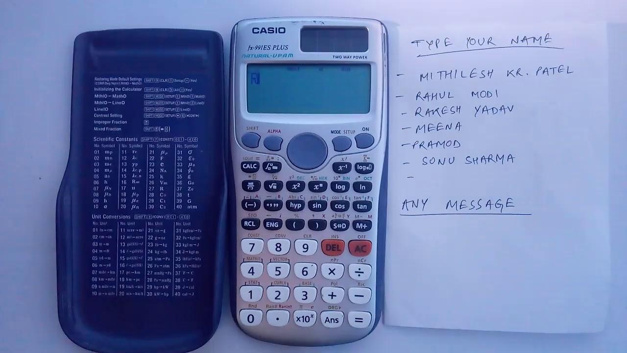 Calculator Casio Fx 991es Plus
