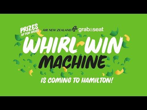Grabaseat Whirl-Win Tour coming to Hamilton