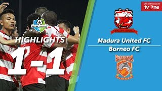 Download Video Madura United FC vs Borneo FC:  1-1 All Goals & Highlights - Liga 1 MP3 3GP MP4