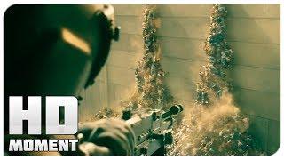 Зомби прорвались через стену в Иерусалим - Война миров Z (2013) - Момент из фильма