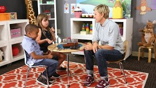 Ellen Introduces Kids to the Technology of Yesterday(Kids these days don't know how good they have it. Ellen proved exactly that when she asked these kids to give their opinion of some outdated devices., 2014-09-19T21:00:03.000Z)