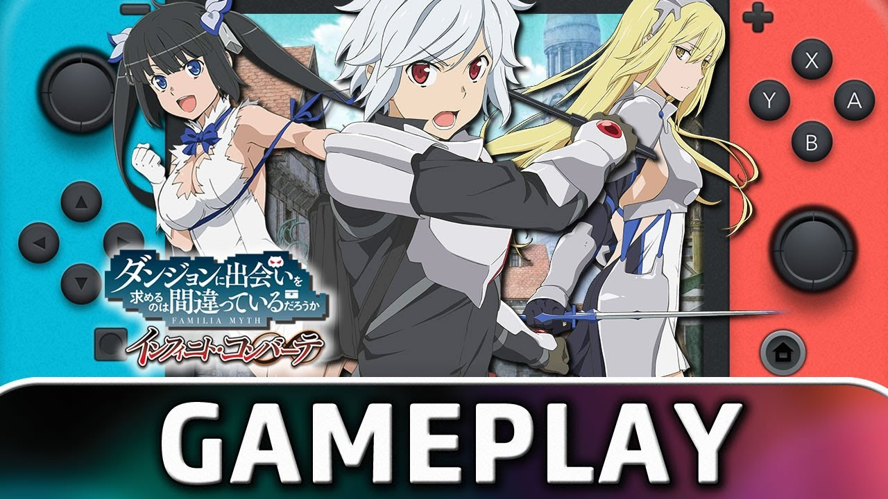 Is It Wrong to Try to Pick Up Girls in a Dungeon? Infinite Combate | 10 Minutes on NintendoSwitch
